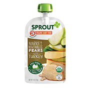Sprout Stage 3 Market Vegetables Pears with Turkey Organic Baby Food