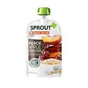 Sprout Stage 3 Peach, Apple Multigrain with Cherry Organic Baby Food