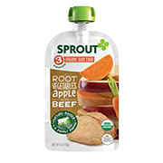 Sprout Stage 3 Root Vegetables Apple with Beef Organic Baby Food