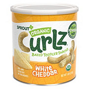 Sprout Toddler Curlz White Cheddar