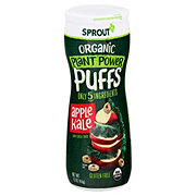 Sprout Toddler Puffs Apple Kale