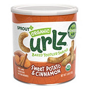 Sprout Toddler Sweet Potato Cinnamon Curlz