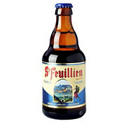St. Feuillien Triple Beer Bottle