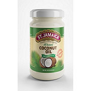 St. Jamaica 100% All Natural Coconut Oil