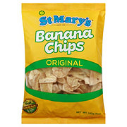St. Mary's Banana Chips Kettle Cooked with Sea Salt