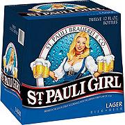 St. Pauli Girl Lager Beer 12 oz Bottles