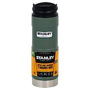 Stanley Classic One Hand Vacuum Mug, Hammertone Green