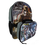 Star Wars Backpack With Lunch Kit