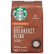 Starbucks Breakfast Blend Medium Roast Ground Coffee