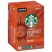 Starbucks Breakfast Blend Medium Roast Single Serve Coffee K Cups