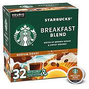 Starbucks Breakfast Blend Medium Roast Single Serve Coffee K Cups