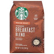 Starbucks Breakfast Blend Medium Roast Whole Bean Coffee