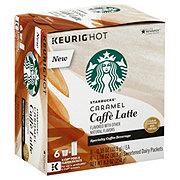 Starbucks Caramel Caffe Latte Single Serve Coffee K Cups