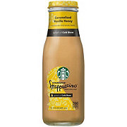Starbucks Caramelized Vanilla Honey Frappuccino Chilled Coffee Drink