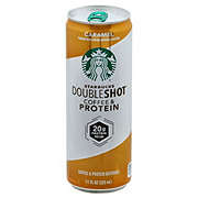Starbucks Double Shot Caramel Coffee and Protein Drink