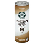 Starbucks Double Shot Coffee and Protein