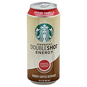 Starbucks Double Shot Energy Spiced Vanilla Coffee Drink
