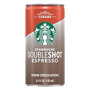 Starbucks Double Shot Espresso Cubano Coffee Drink
