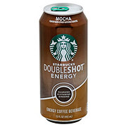 Starbucks Double Shot Mocha Energy Coffee Drink