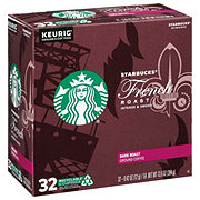 Starbucks French Roast Dark Roast Single Serve Coffee K Cups