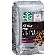 Starbucks Ground Dark Decaf Caffe Verona Coffee