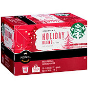 Starbucks Holiday Blend Coffee Single Serve K-cups