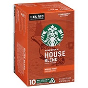 Starbucks House Blend Medium Roast Single Serve Coffee K Cups