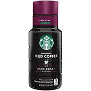 Starbucks Iced Coffee Dark Roast