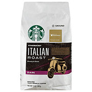 Starbucks Italian Roast Dark Roast Ground Coffee