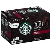 Starbucks Italian Roast Dark Roast Single Serve Coffee K Cups
