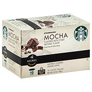 Starbucks Mocha Flavored Single Serve Coffee K Cups