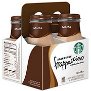 Starbucks Mocha Frappuccino Coffee Drink 9.5 oz Bottles