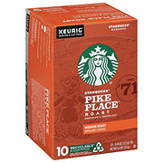 Starbucks Pike Place Medium Roast Single Serve Coffee K Cups