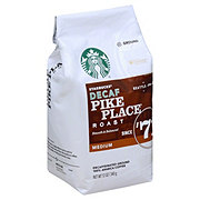 Starbucks Pike Place Roast Decaf Medium Roast Ground Coffee