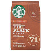 Starbucks Pike Place Roast Medium Roast Ground Coffee
