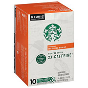 Starbucks Plus Medium Roast Single Serve Coffee K Cups