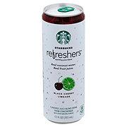 Starbucks Refreshers Black Cherry Limeade Beverage