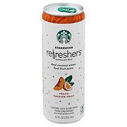 Starbucks Refreshers Peach Passion Fruit Beverage