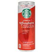 Starbucks Refreshers Strawberry Lemonade Sparkling Green Coffee Energy Drink