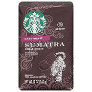 Starbucks Sumatra Dark Roast Ground Coffee