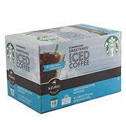Starbucks Sweetened Iced Coffee K Cup Shop Coffee At H E B