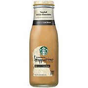 Starbucks Toasted White Chocolate Frappaccino Chilled Coffee Drink