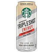 Starbucks Triple Shot Energy Extra Strength French Vanilla