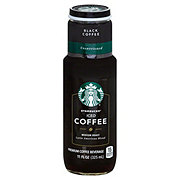 Starbucks Unsweetened Black Medium Roast Iced Coffee