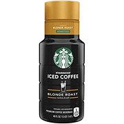 Starbucks Unsweetened Blonde Roast Iced Coffee