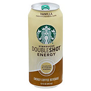 Starbucks Vanilla Double Shot Energy Coffee Drink