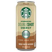 Starbucks Vanilla Double Shot Fortified Energy Coffee Drink