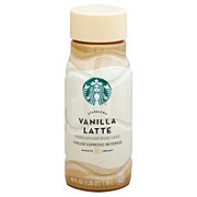 Starbucks Vanilla Latte Chilled Espresso Beverage