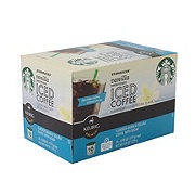 Starbucks Vanilla Sweetened Iced Coffee K Cup Shop Coffee