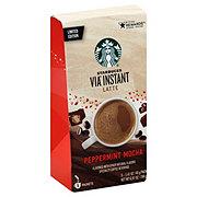 Starbucks Via Instant Latte Peppermint Mocha